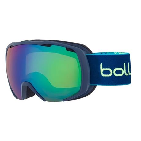 Bolle Ski Goggles Junior Royal Matte Blue/Yellow Emerald/2 Lens