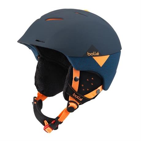 Bolle Ski Helmet Synergy Soft Navy/Orange