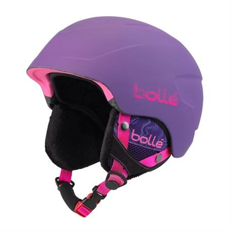 Bolle Ski Helmet Junior B-Lieve Soft Purple Spray 53-58cm