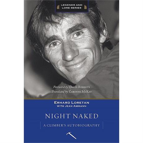 Book: Night Naked - Erhard Loretan