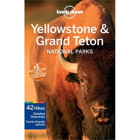Lonely Planet Travel Guide Book: Yellowstone and Grand Teton National Parks
