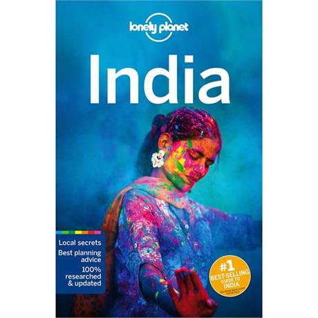Lonely Planet Travel Guide Book: India (17th Edition)