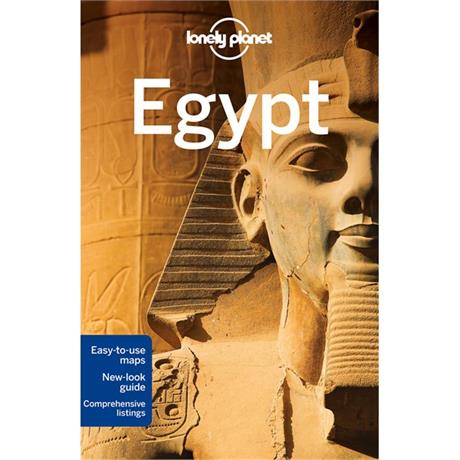 Lonely Planet Travel Guide Book: Egypt (12th Edition)