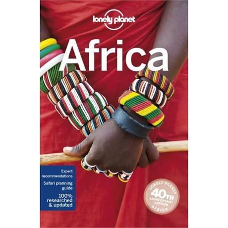 Lonely Planet Travel Guide Book: Africa (14th Edition)