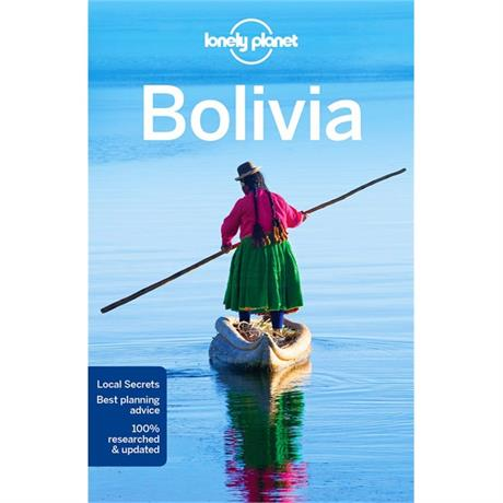 Lonely Planet Travel Guide Book: Bolivia (9th Edition)