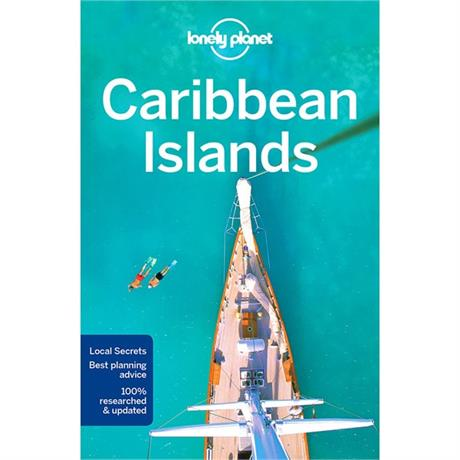 Lonely Planet Travel Guide Book: Caribbean Islands