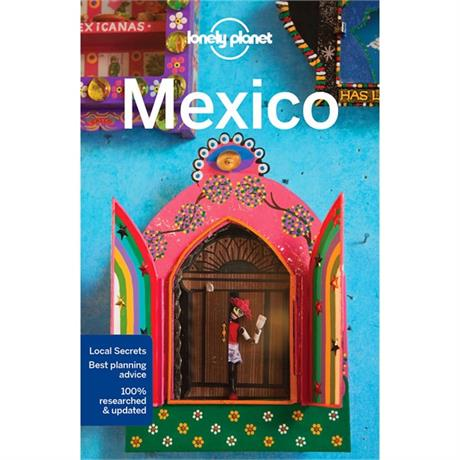Lonely Planet Travel Guide Book: Mexico (15th Edition)