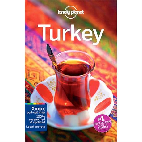 Lonely Planet Travel Guide Book: Turkey