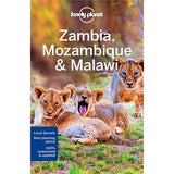 Lonely Planet Travel Guide Book: Zambia, Mozambique & Malawi