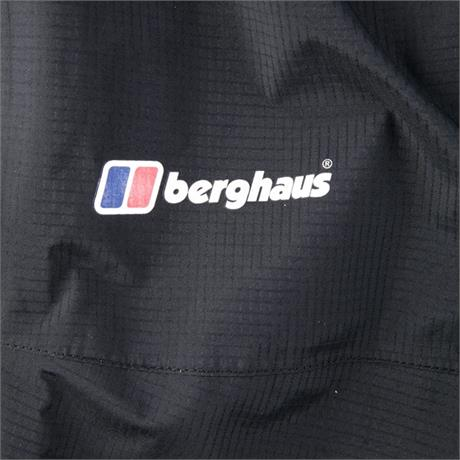 Berghaus WATERPROOF Overtrousers Men's Gore-Tex Paclite Pant REGULAR Leg Black