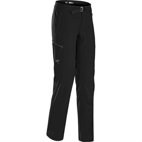 Arc'teryx SOFTSHELL Pant Women's Gamma LT REGULAR Leg Trousers Black