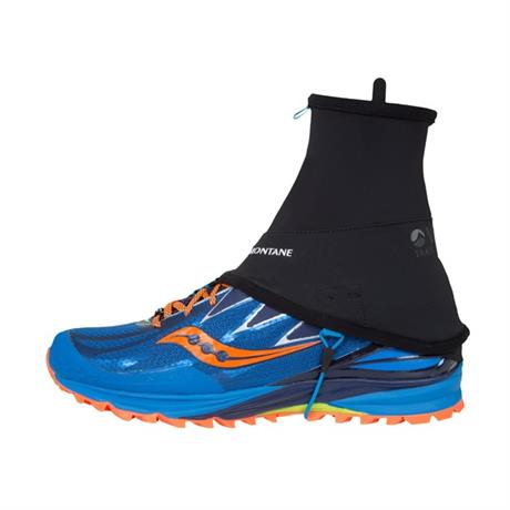Montane SOFTSHELL Gaiters Via Trail Black/Blue Spark