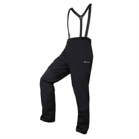 Montane WATERPROOF Overtrousers Men's Alpine Pro Pant Black