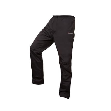 Montane WATERPROOF Overtrousers Men's Atomic Pant SHORT Leg Black