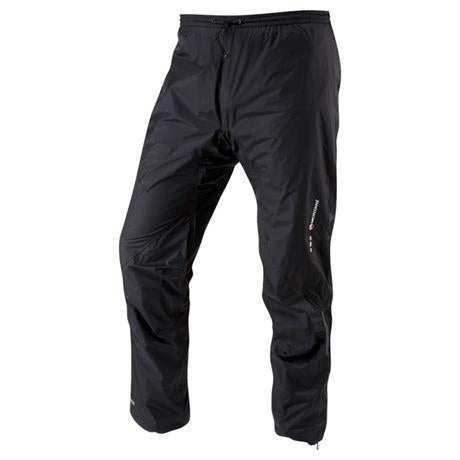 Montane WATERPROOF Overtrousers Men's Minimus Pant SHORT Leg Black