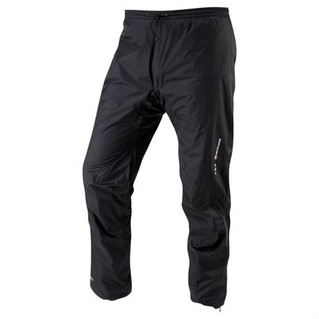 Montane WATERPROOF Overtrousers Men's Minimus Pant REGULAR Leg Black