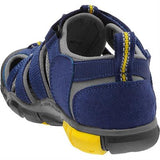 Keen Sandals Children's Seacamp II CNX YOUTH Blue Depths/Gargoyle
