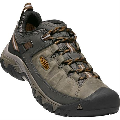 Keen Shoes Men's Targhee III WP Black Olive/Golden Brown