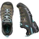 Keen Shoes Women's Targhee III WP Alcatraz/Blue Turquoise