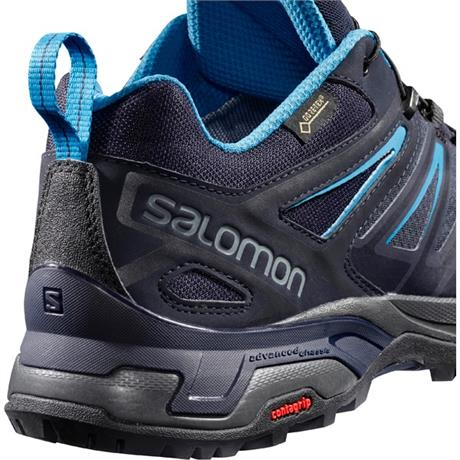 Salomon Shoe Men's X Ultra 3 GTX Graphite/Night Sky/Hawaiian
