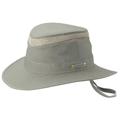 Tilley Hat Airflo Medium Brim Organic Cotton Khaki/Olive