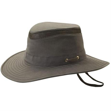 Tilley Hat Airflo Medium Brim Organic Cotton Olive