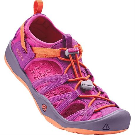 Keen Sandals Children's Moxie YOUTH Purple Wine/Nasturtium