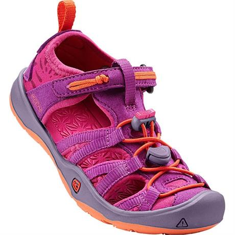 Keen Sandals Children's Moxie CHILD Purple Wine/Nasturtium