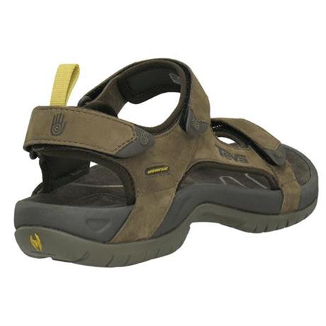 Teva Sandals Men's Tanza Leather Brown