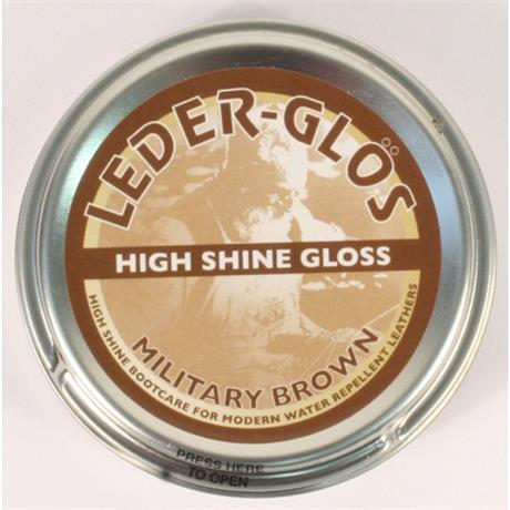 Altberg Boot Care: Leder Gris Wax High Shine MoD BROWN 80g
