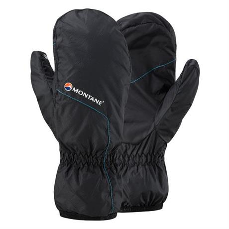 Montane INSULATED Mitts Men's Prism Black/Blue Spark