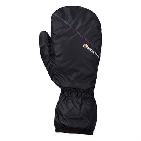 Montane INSULATED Mitts Women's Prism Primaloft Black/Dahlia