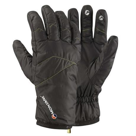 Montane Gloves Women's INSULATED Prism Black/Siberian Green