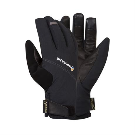 Montane Gloves Men's WATERPROOF INSULATED Tornado Black/Mercury