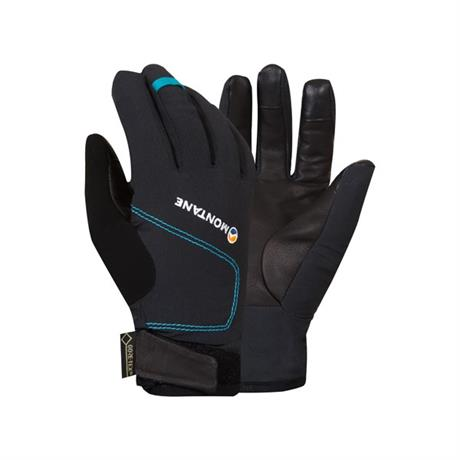 Montane Gloves Women's WATERPROOF INSULATED Tornado Black/Zanskar