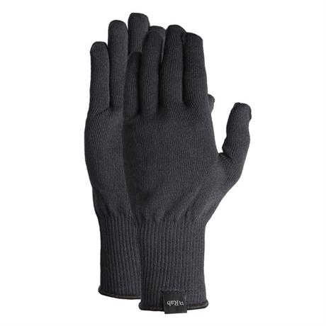 Men's Rab Stretch Knit Gloves - Black
