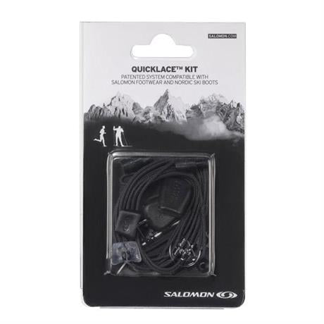 Salomon Footwear Spare Laces Quicklace Kit Black