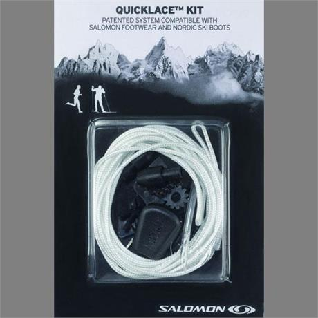 Salomon Footwear Spare Laces Quicklace Kit Natural