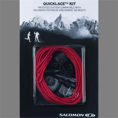 Salomon Footwear Spare Laces QuickLace Kit Red