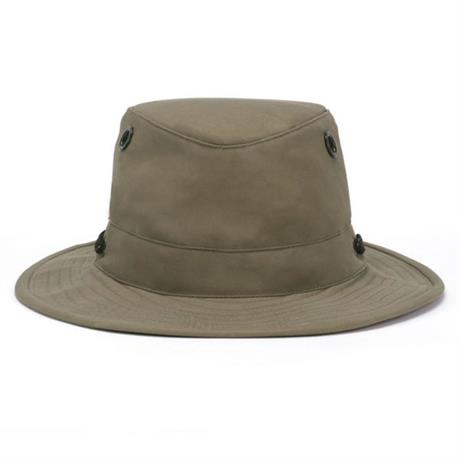 Tilley Hat LWC55 Medium Brim Lightweight Wax Cotton Mid Tan