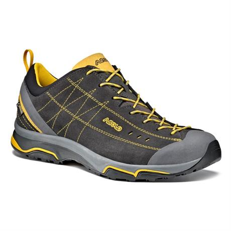 Asolo Shoes Men's Nucleon GV Graphite/Yellow