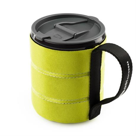 GSI Outdoors Cookware: Infinity Backpacker Mug Green