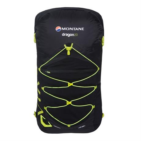 Montane Pack VIA Dragon 20 Rucksack Black/Laser Green