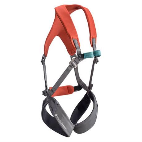 Black Diamond Climbing Harness Children's Momentum Full Body Octane