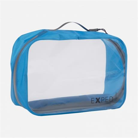 Exped Travel Luggage: Clear Cube LARGE 6L Cyan