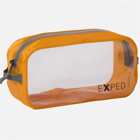 Exped Travel Luggage: Clear Cube MEDIUM 3L Orange