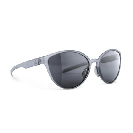 Adidas Eyewear Tempest Sunglasses Grey Transparent - Chrome Mirror