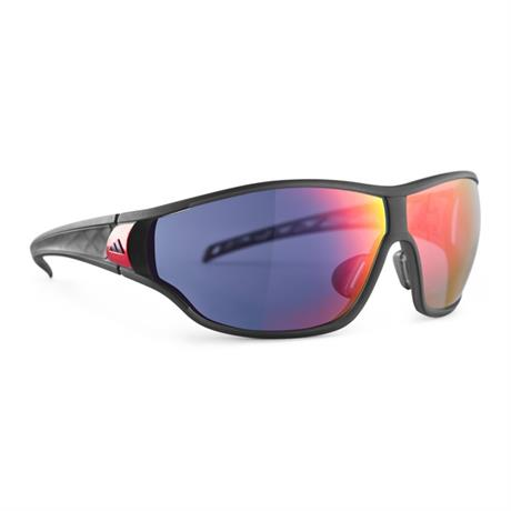 Adidas Eyewear Tycane S Sunglasses Umber Matt Translucent - Red Mirror