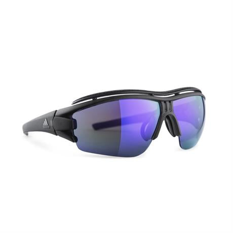 Adidas New Evil Eye Halfrim Pro S Sunglasses Coal Matt - Viola Mirror LST Bright