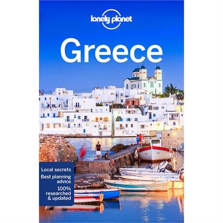 Lonely Planet Travel Guide Book: Greece (13th Edition)